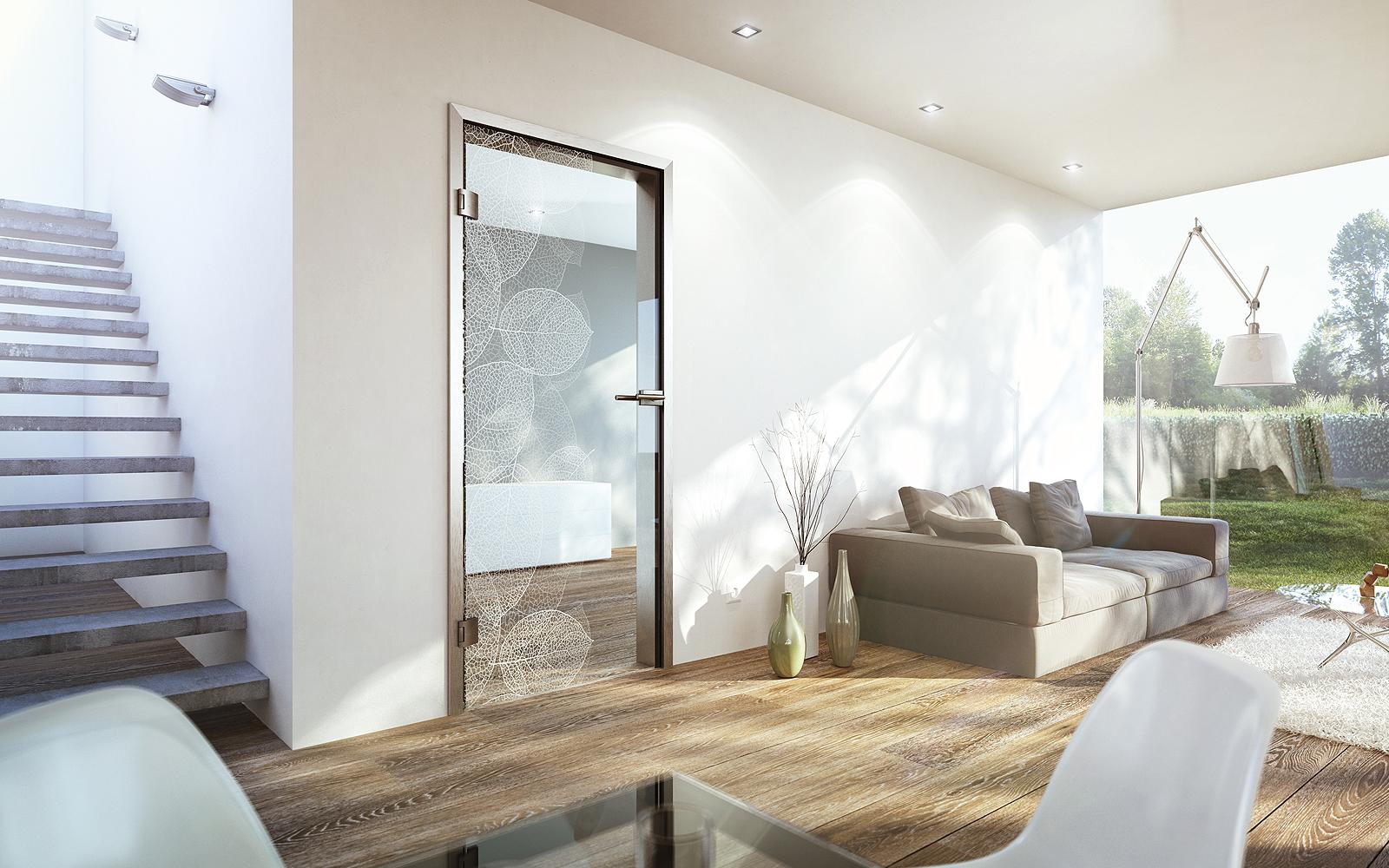 schiebet r holz rustikal mit glas. Black Bedroom Furniture Sets. Home Design Ideas
